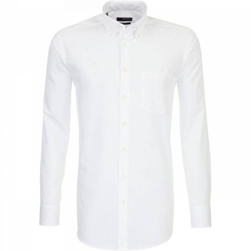 Button Down Collar Single Cuff Shirt