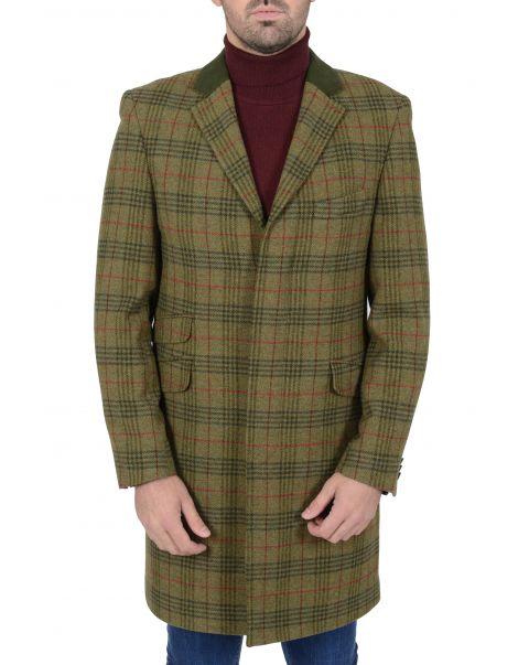 Lockheart Check Overcoat
