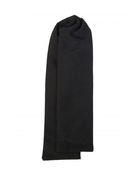 Black Plain Matt Cravat