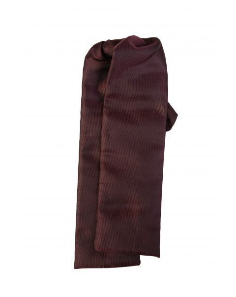 Burgundy Self Spot Cravat