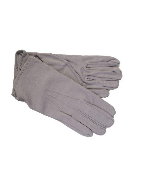 Grey Cotton Gloves