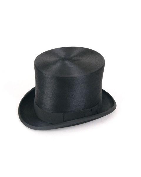 Extra Tall Shiny Top Hat