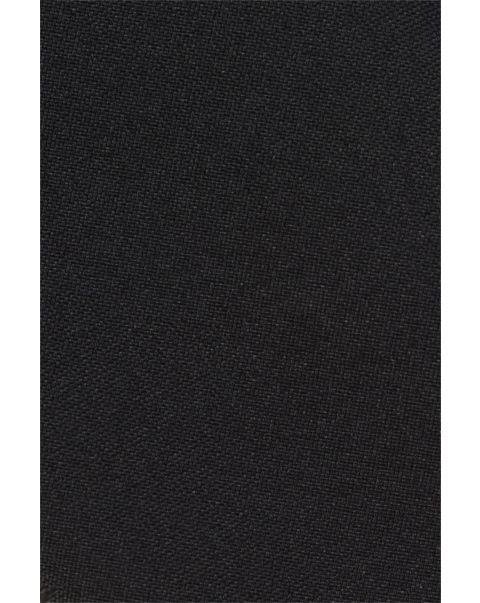 Black Plain Matt Pocket Square