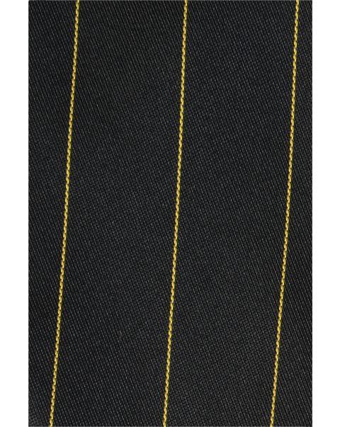 Black Gold Stripe Pocket Square