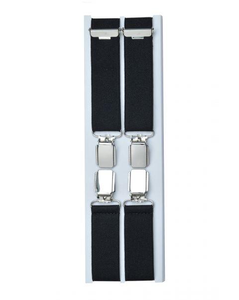 Narrow Width Braces - Silver Clips