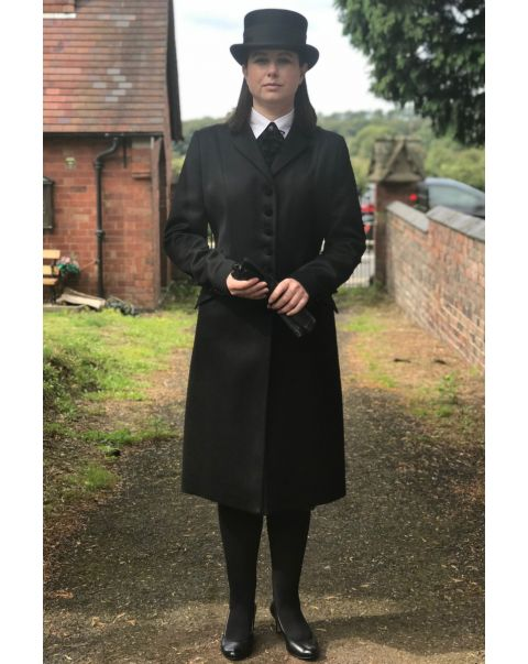 Ambassador Chepstow Overcoat - Velvet Trim