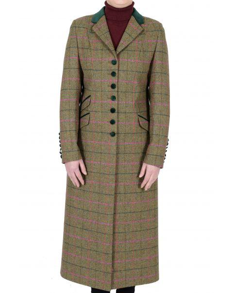 Chepstow Tweed Overcoat - Size 10