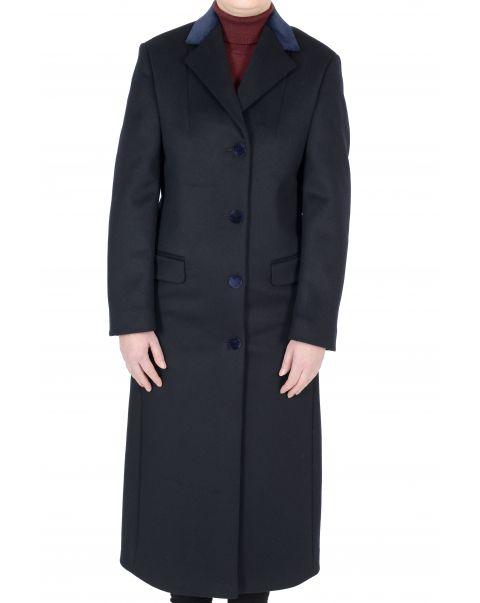 Chatsworth Navy Overcoat