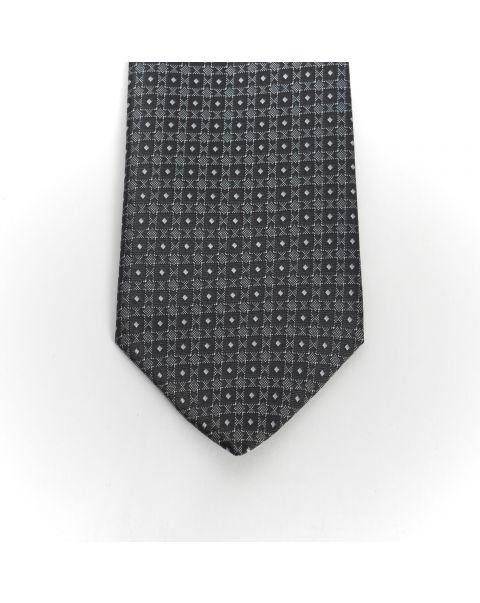 Black New Spot Tie