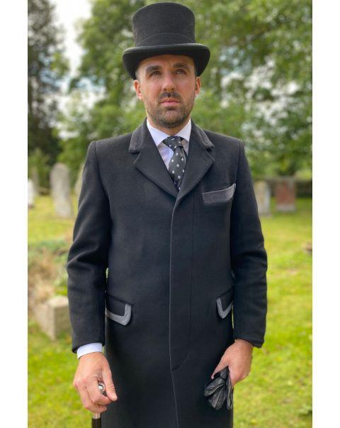 Overcoat - Grey Trim