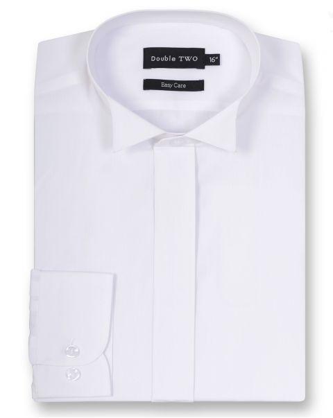 Wing Collar Single Cuff Shirt