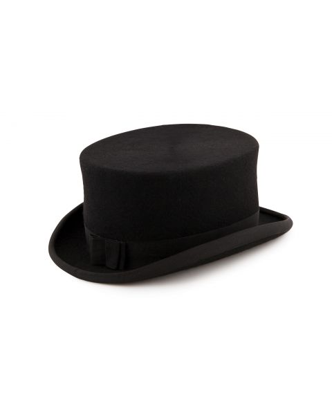 Ladies Shiny Top Hat