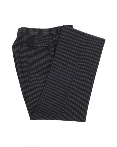 Number One Stripe Trousers - Plain Front