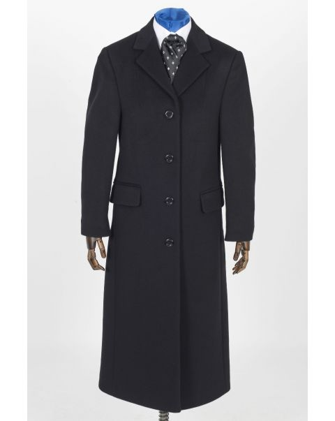 Overcoat - Plain Trim