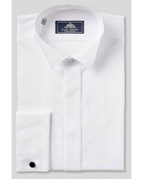 Wing Collar Double Cuff Shirt