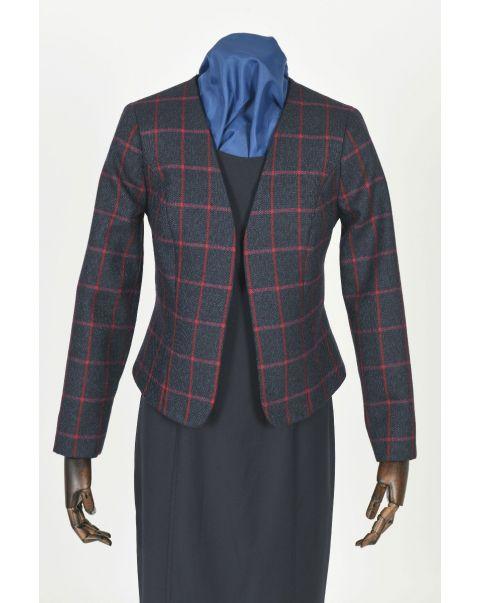 Tweed Checked Bolero