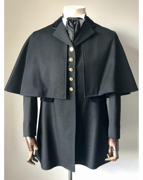 Black Coaching Jacket - Size 14