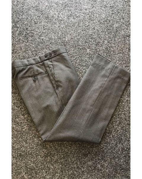 Striped Classic Fit Trousers - W32 x L29