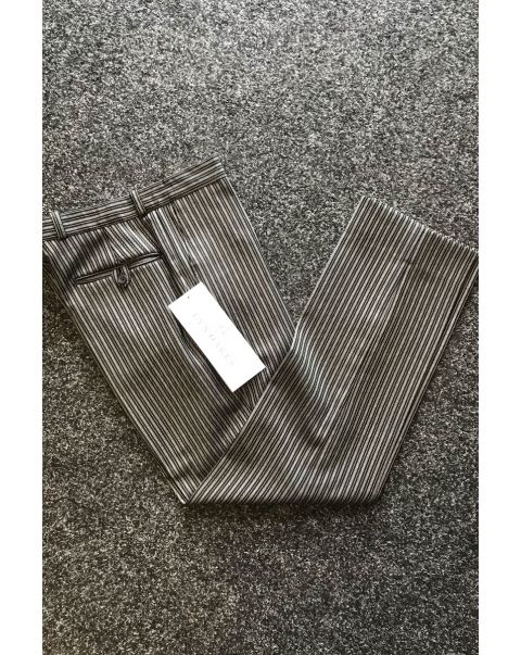 Striped Tailored Fit Trousers - W32 x L31