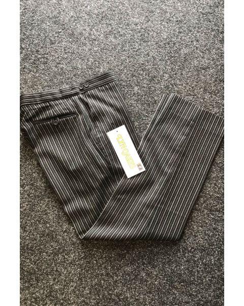 Striped Classic Fit Trousers - W32 x L31