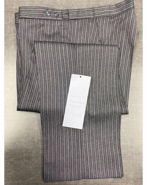 Striped Classic Fit Trousers - W40 x L29