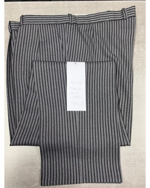Striped Classic Fit Trousers - W40 x L33