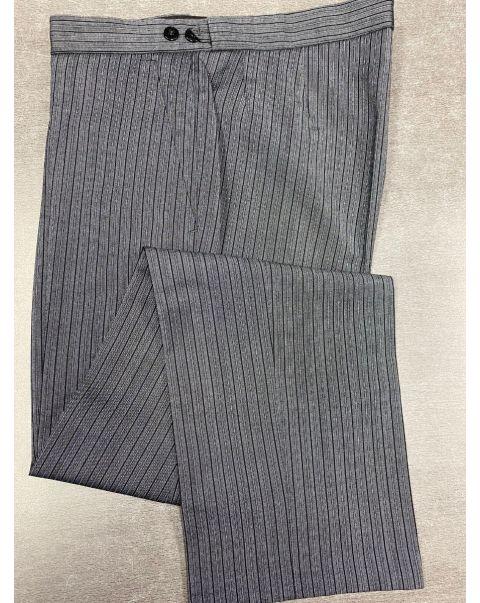 Striped Classic Fit Trousers - W34 x L31