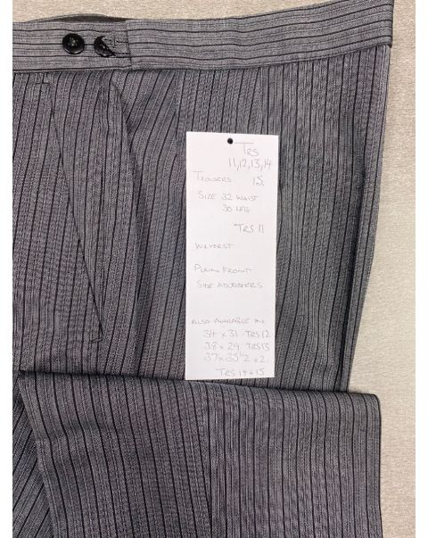 Striped Classic Fit Trousers - W38 x L29