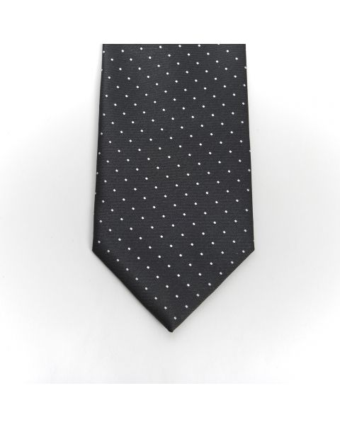 Black White Dot Tie