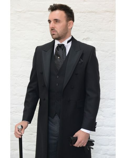 Satin Facing Frockcoat - Styled as Mix and Match Suit