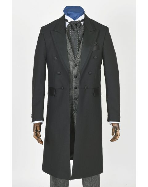 Satin Facing Frockcoat - Paired With Checks