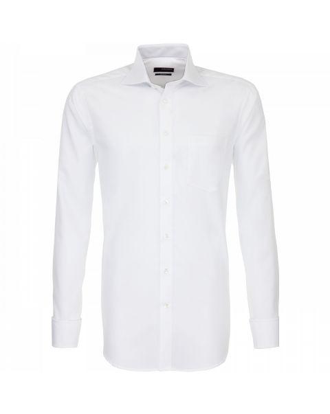 Cut Away Collar Single Cuff Shirt