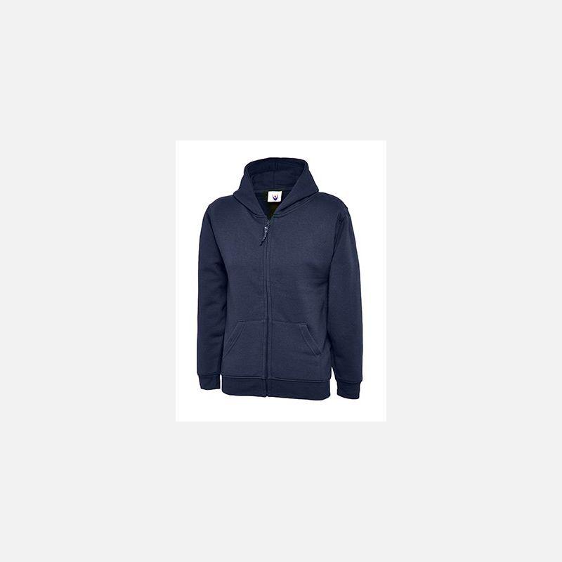 Ladies Full Zip Sweatshirt