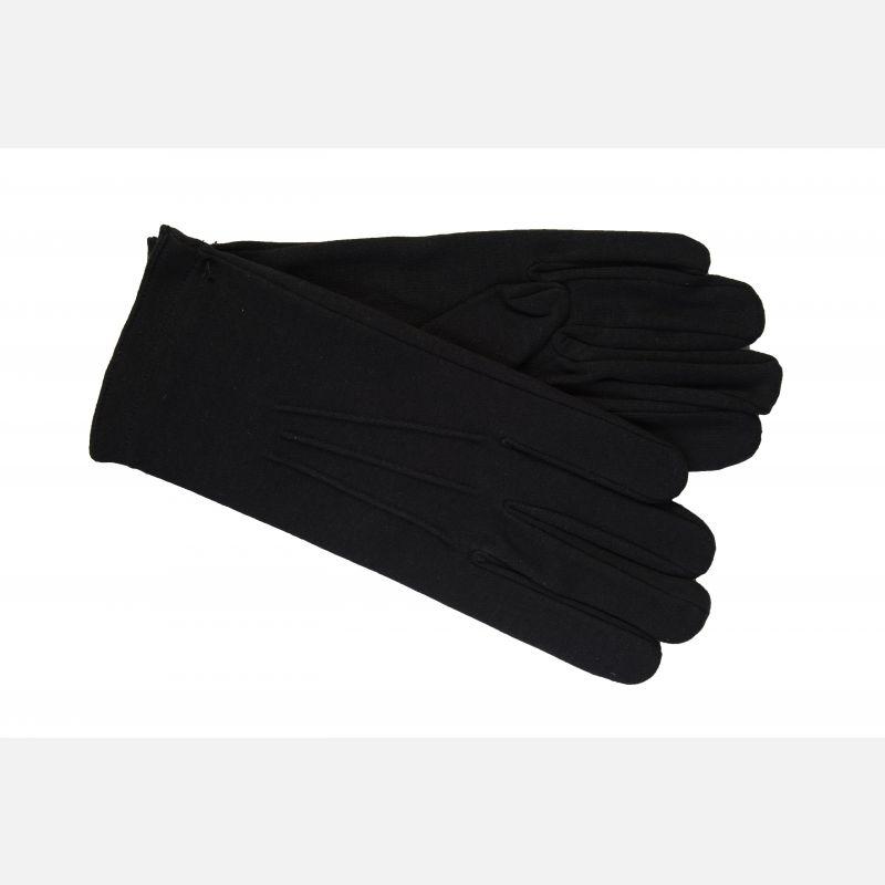 Black Cotton Gloves