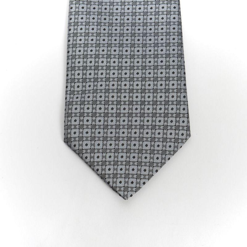Grey New Spot Tie