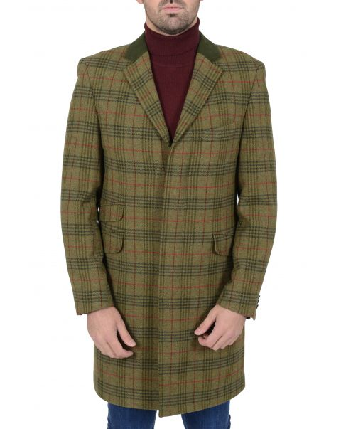 Lockheart Check Overcoat