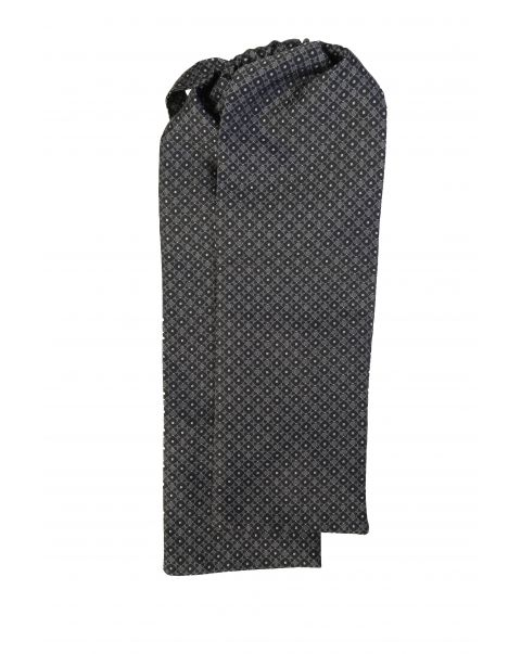 Black New Spot Cravat
