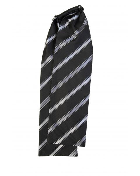 Silver Stripe Cravat