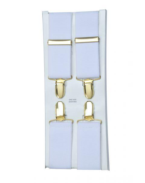 Wide Width Braces - Gold Clips