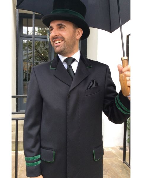 Ambassador Overcoat - Green Trim