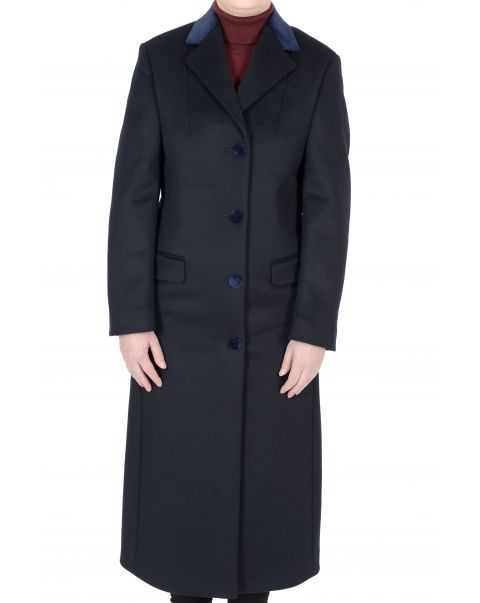 Chatsworth Navy Overcoat