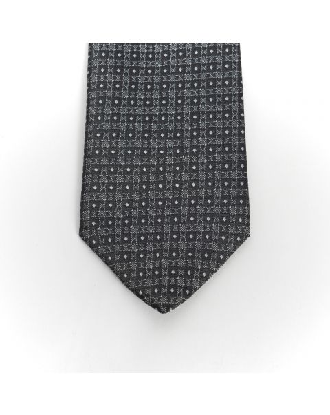 Black New Spot Tie