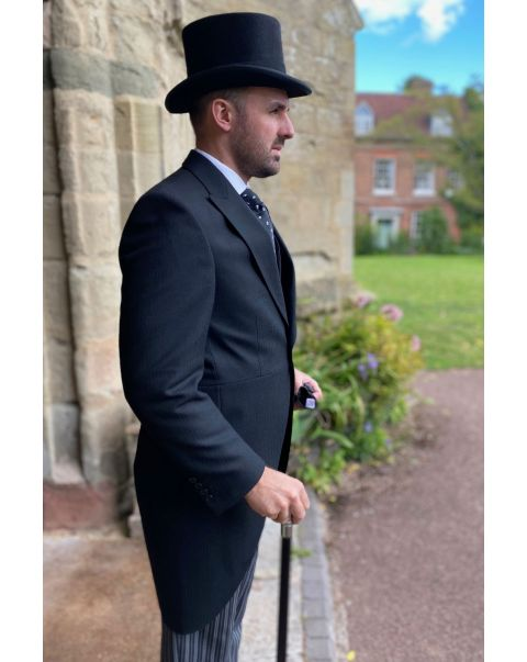 Deluxe Herringbone Tailcoat