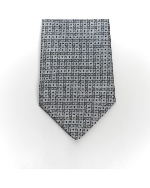 Grey New Spot Tie