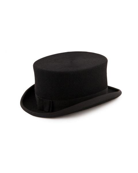 Ladies Shiny Top Hat