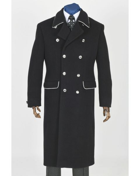 Lancer Overcoat - Silver Trim