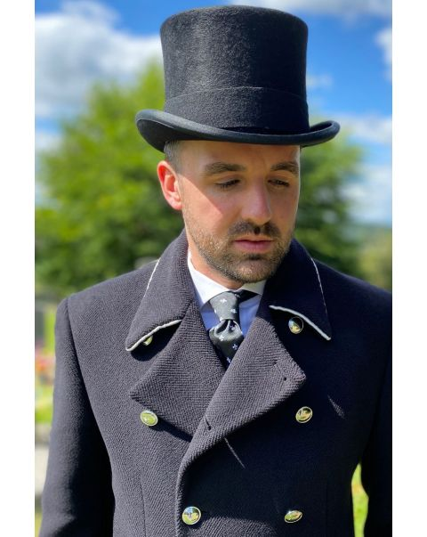 Lancer Overcoat - Silver Trim
