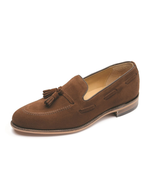 Lincoln Brown Suede by Loake