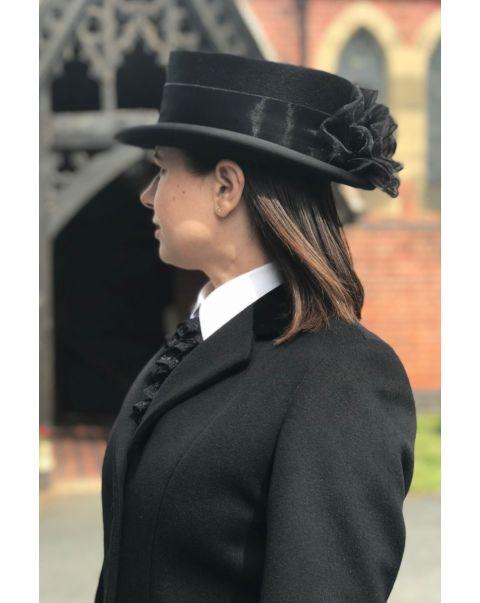 Chepstow Overcoat - Velvet Trim
