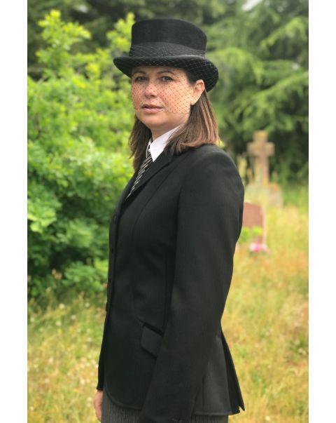 Emily Jacket - Velvet Trim